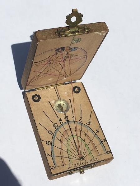 reloj de sol portatil